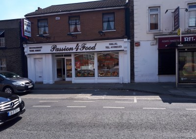 Shop premises in clanbrassil st built by Kelly bros.